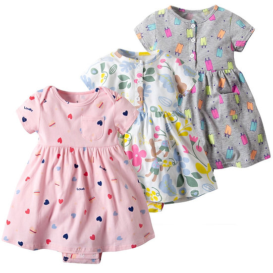 Baby Girl summer dress Toddler Kid Clothes