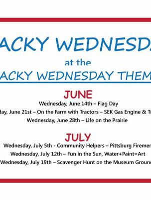 Wacky Wednesday - Summer Fun for Kids
