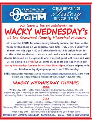 Wacky Wednesday 2019!