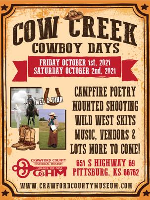 Upcoming: Cow Creek Cowboy Days
