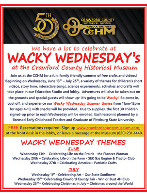 Wacky Wednesday 2018