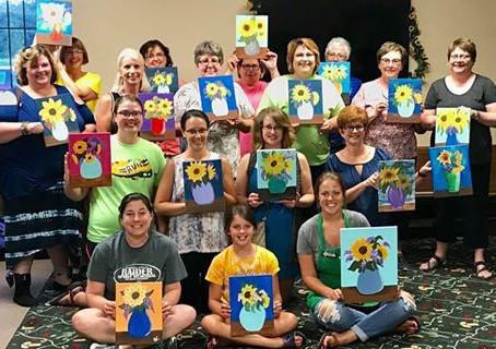 Paint, Sip & Laugh - Sunflowers