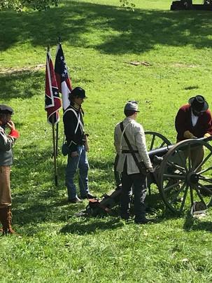 Civil War Living History Reenactment