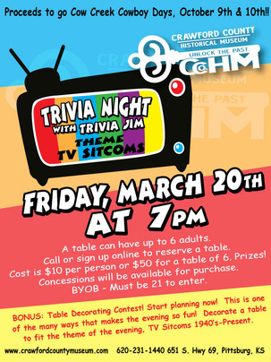 Cancelled: Trivia Night