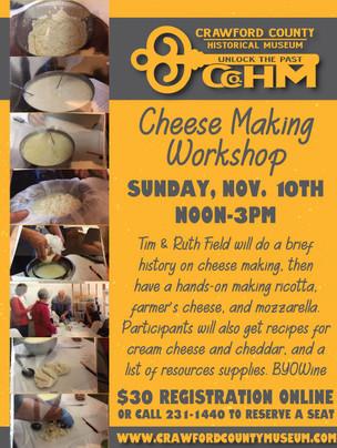 Cheese Making Workshop