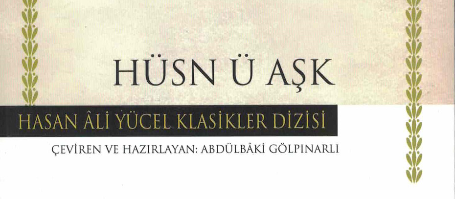 Mahmut Yıldırım Yazdı- Hüsn ü Aşk'a Giden Yolda Şehzade Işknameleri