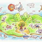 鯛プロジェクト 演劇チラシ MAP