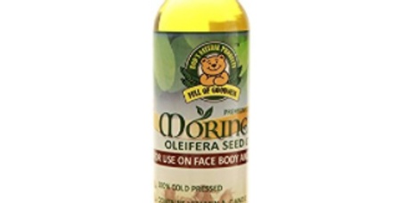 Bod's Natural Products Moringa Oleifera Seed Oil cold pressed 100ml