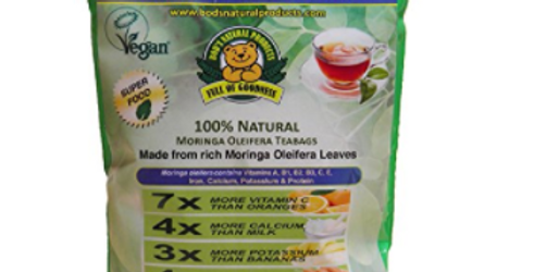 Bod's Natural Products Moringa Oleifera Teabags (3 x 20)