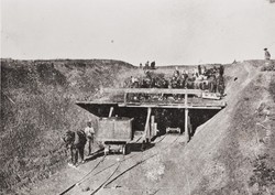 Chinese Building the Railroad