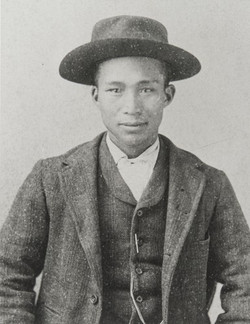 Chinese Laborer of Dudley Ranch in Ventura