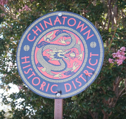 Chinatown Historic District Sign