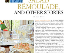 Lobster Salad Rémoulade, and other stories