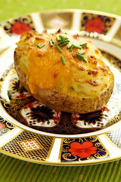 Marguerite's Twice-Baked Potatoes by Alex Hitz