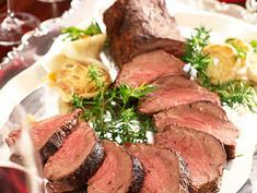Perfect Roast Tenderloin of Beef with Horseradish Sauce