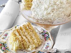 Dorothy's Coconut Cake Recipe from Alex Hitz