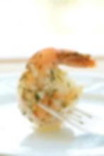Marinated Shrimp by Alex Hitz
