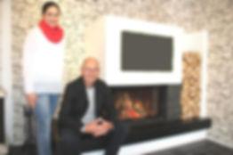 Kachel + Kamin Reiner und Maike Schepers