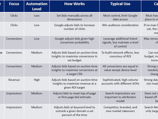 Google Ads Bid Strategies: Manual vs Automated