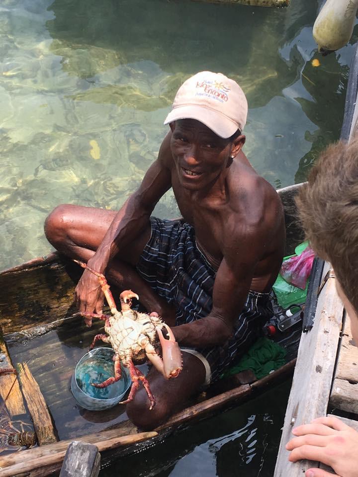 Baru Colombia Fisherman
