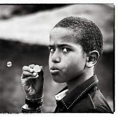 L'enfant aux bulles