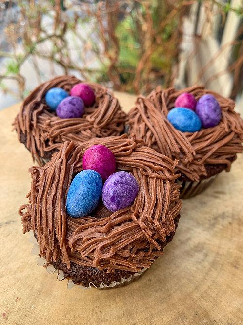 Organic Easter Cupcakes