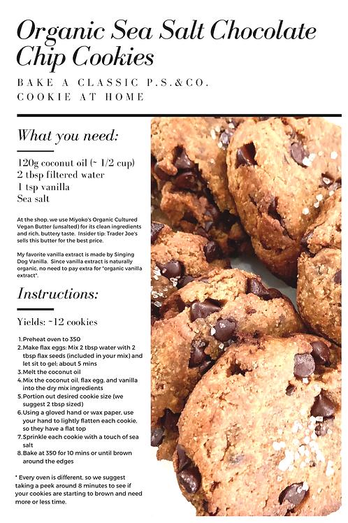 Organic Sea Salt Chocolate Chip Cookie Mix