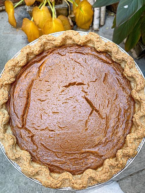 "Organic Pumpkin Pie (10"")"