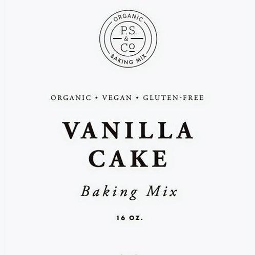 Organic Vanilla Cupcake Mix