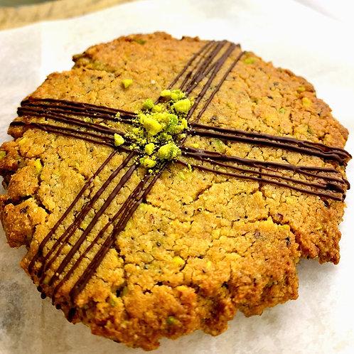 Organic Pistachio Mocha Cookies