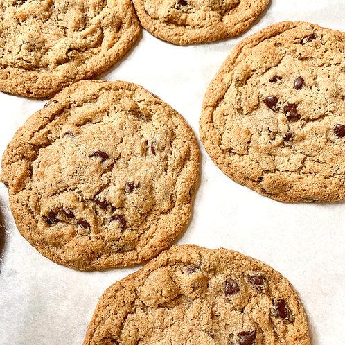 Organic Chocolate Chip Tahini Cookies
