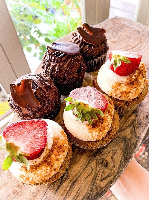 Organic Specialty Cupcakes