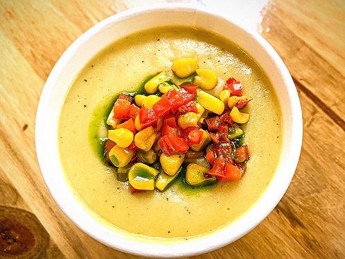 Organic Roasted Corn Chowder