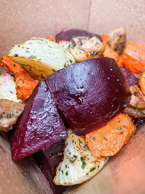 Organic Roasted Root Vegetables