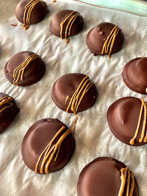 Organic Chocolate Peanut Butter Patties