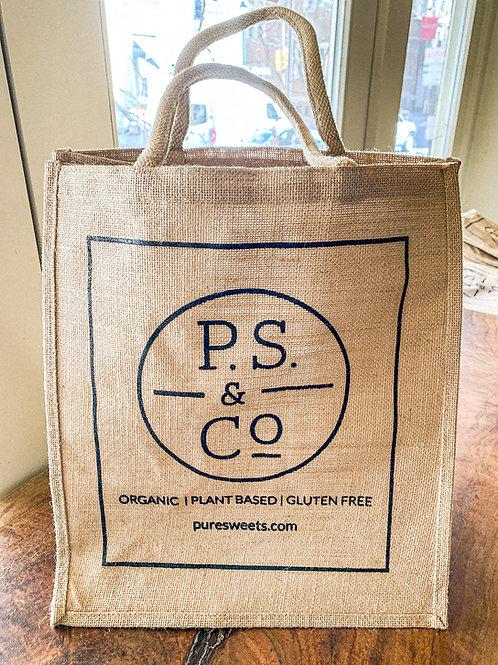 P.S. & Co. Jute Bag