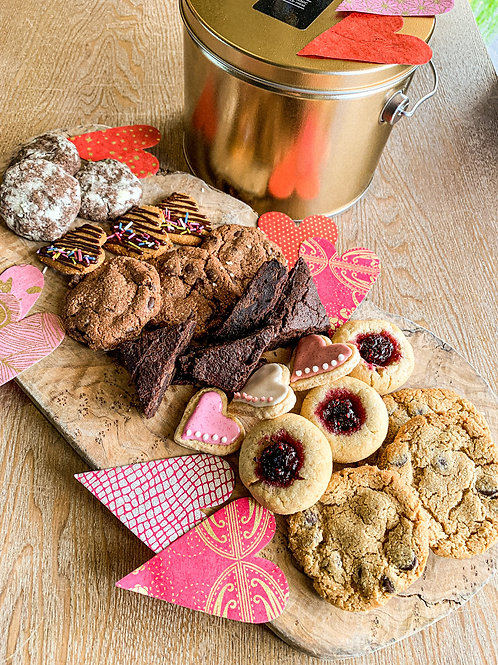 Valentine's Cookie Tin