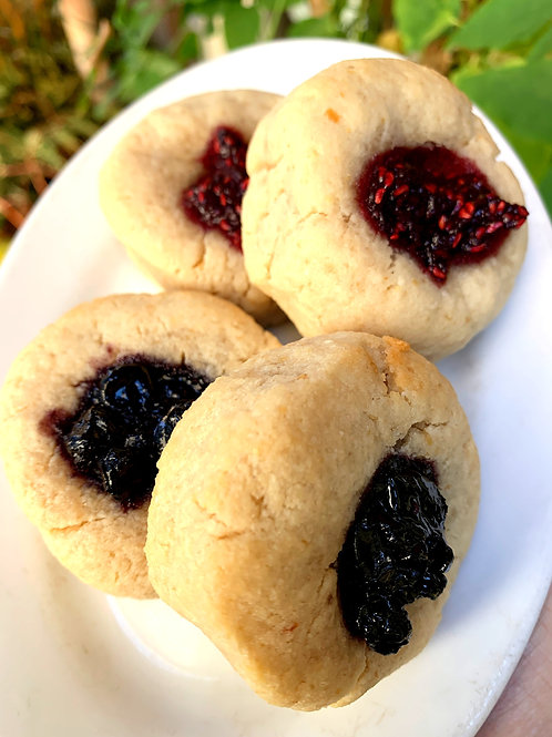 Organic Thumbprint Cookies