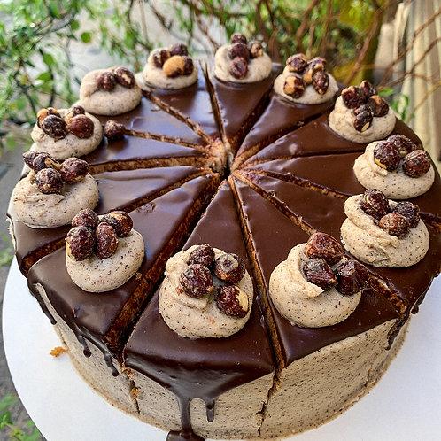 Organic Hazelnut Cake