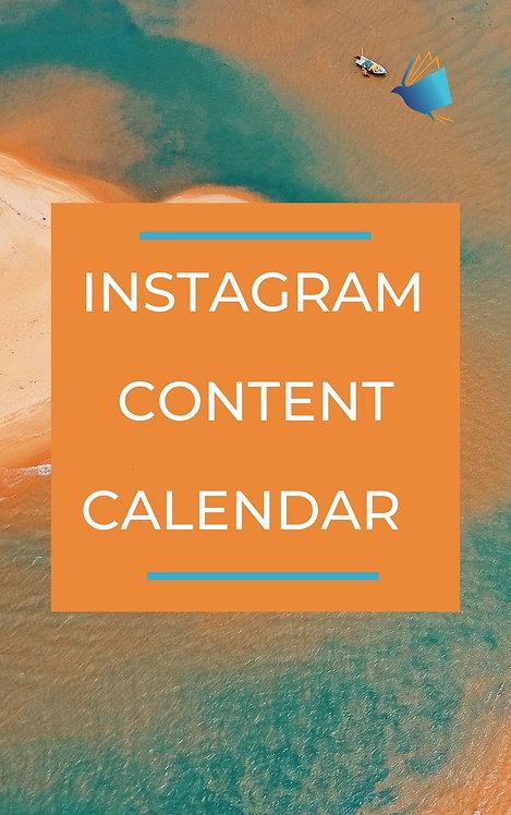 Instagram Content Calendar