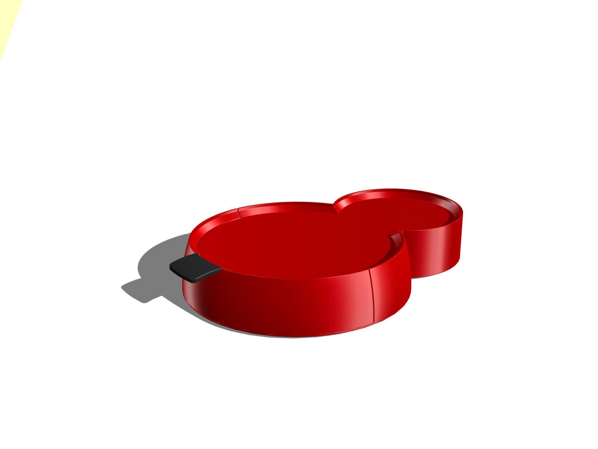 Senseo used pads disposal tray