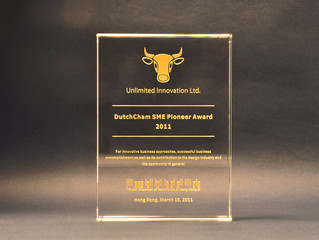 Unlimited Innovation Wins SME Pioneer Award for Design and Business Leadership