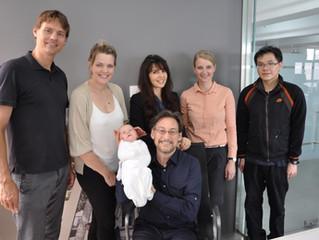 Dr. Harvey Karp visits office of Unlimited Innovation