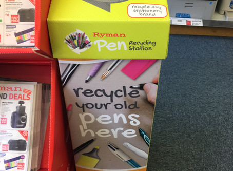 Pen Recycling!