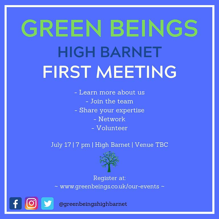 Green Beings General Meeting