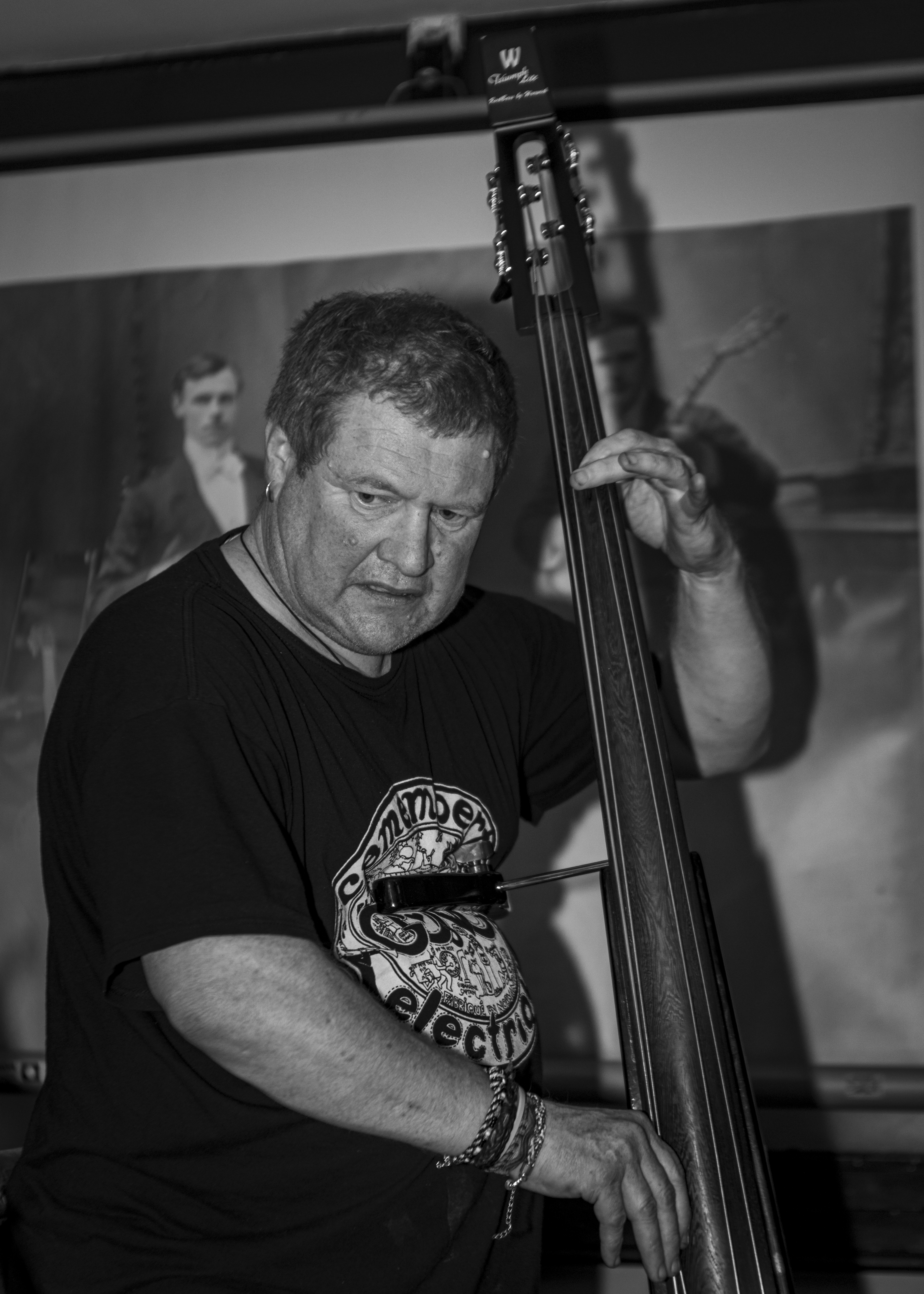Pete Heron Bass Man
