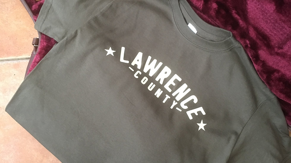 Lawrence County T-Shirt OLIVE