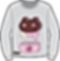 Cookie Cat Drip Sweatshirt Illitration.p
