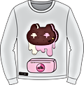 Cookie Cat Drip Sweatshirt Illitration.p