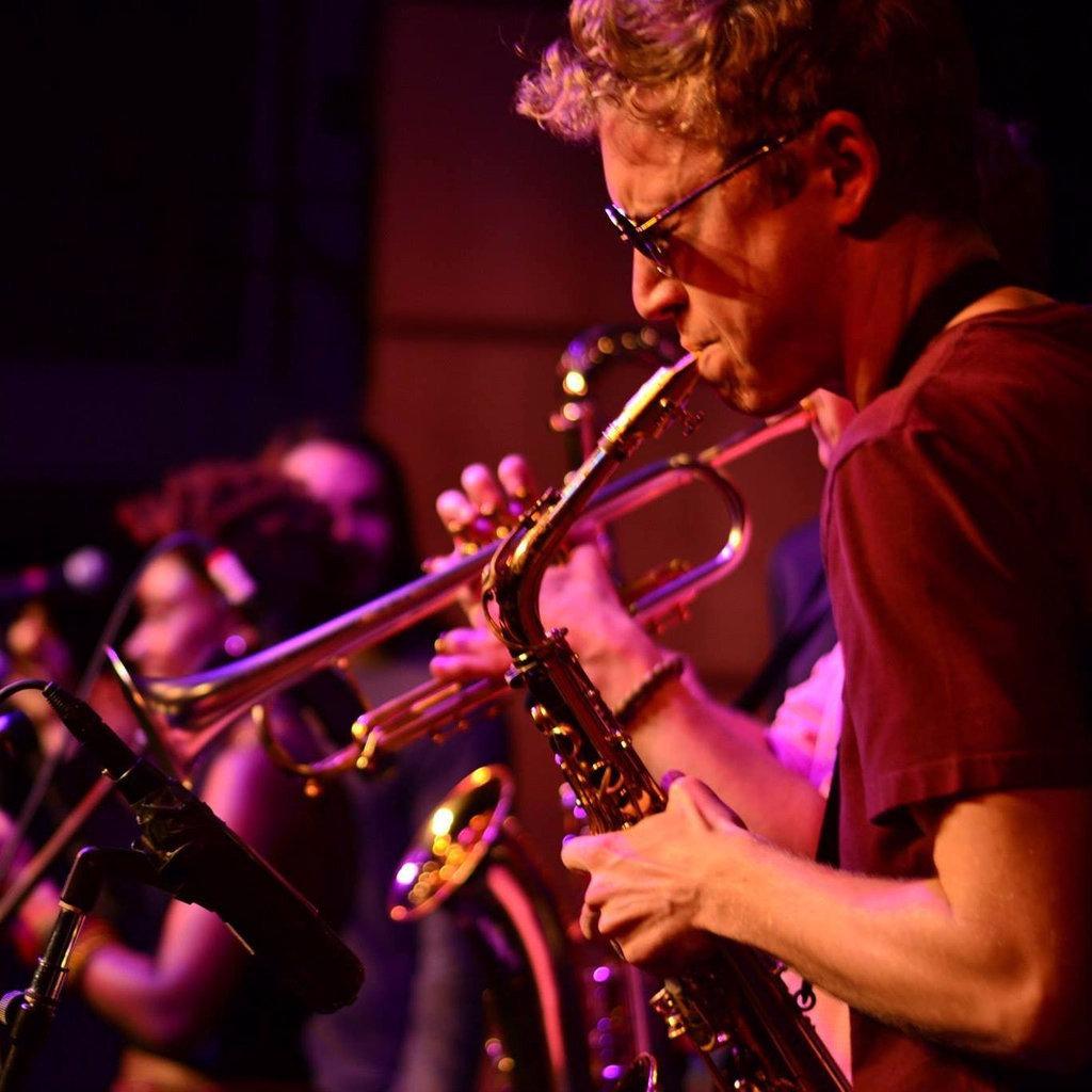 Joshua Zook Playing Saxophone at Berklee